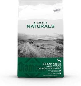 17 Best Dog Foods for Golden Retrievers & Puppies. Diamond Naturals Large Breed Adult Chicken and Rice.