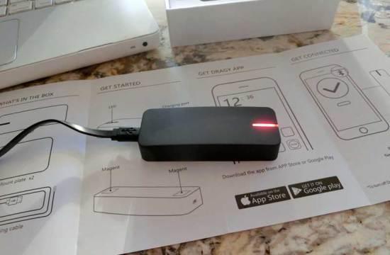 Dragy GPS Acceleration Datalogger