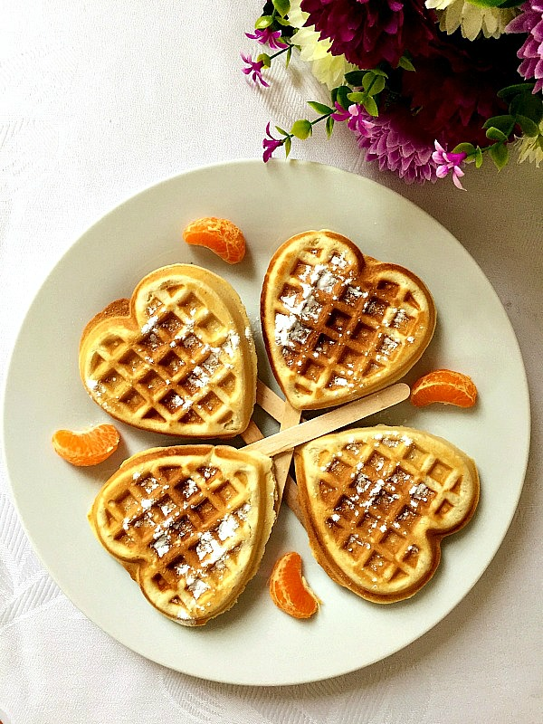 Cinnamon waffles recipe