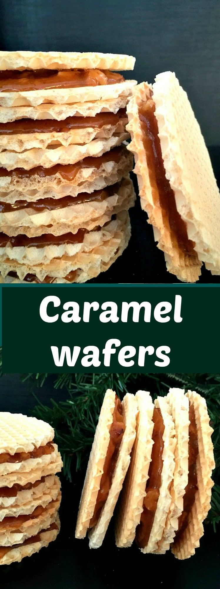 Caramel wafers recipe, a scrumptious homemade dessert recipe that is so crunchy and absolutely delicious.