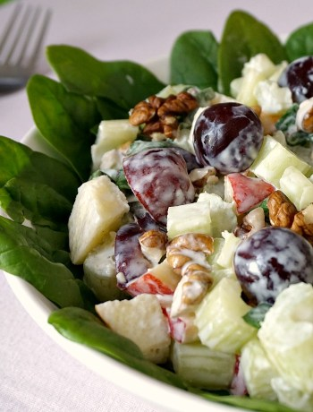 Best ever Waldorf salad recipe