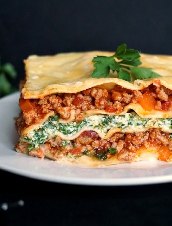 Turkey spinach lasagna recipe with ricotta