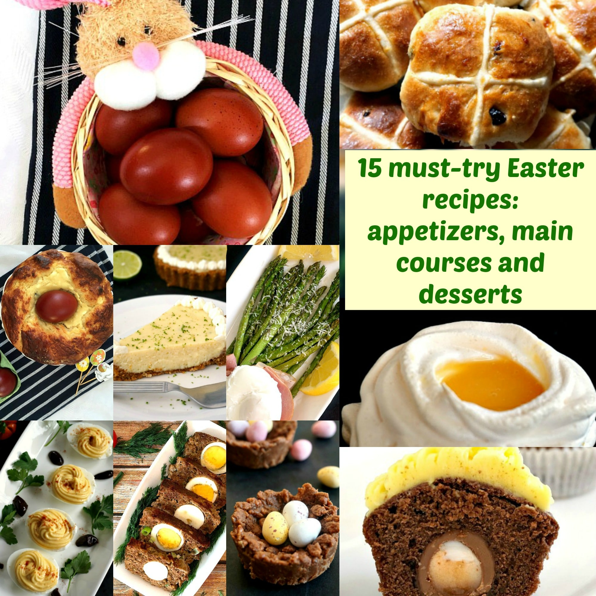 15 Must-Try Easter Foods: Appetizers, Main Courses And