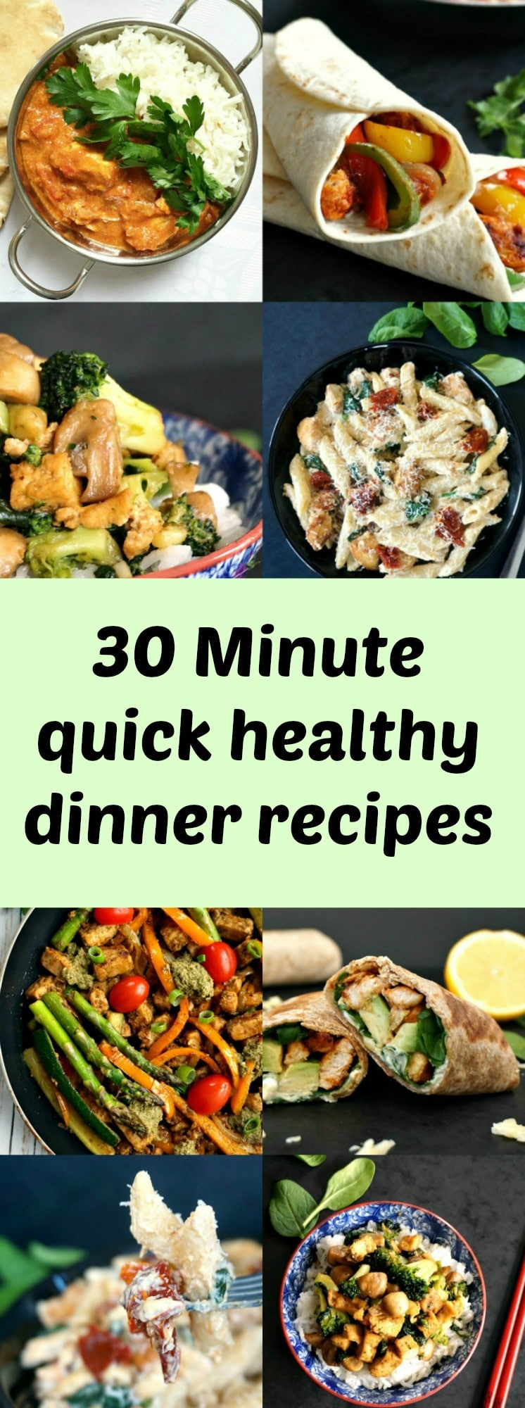 30 minute quick healthy dinner recipes you can 39 t miss for Healthy and delicious dinner recipes