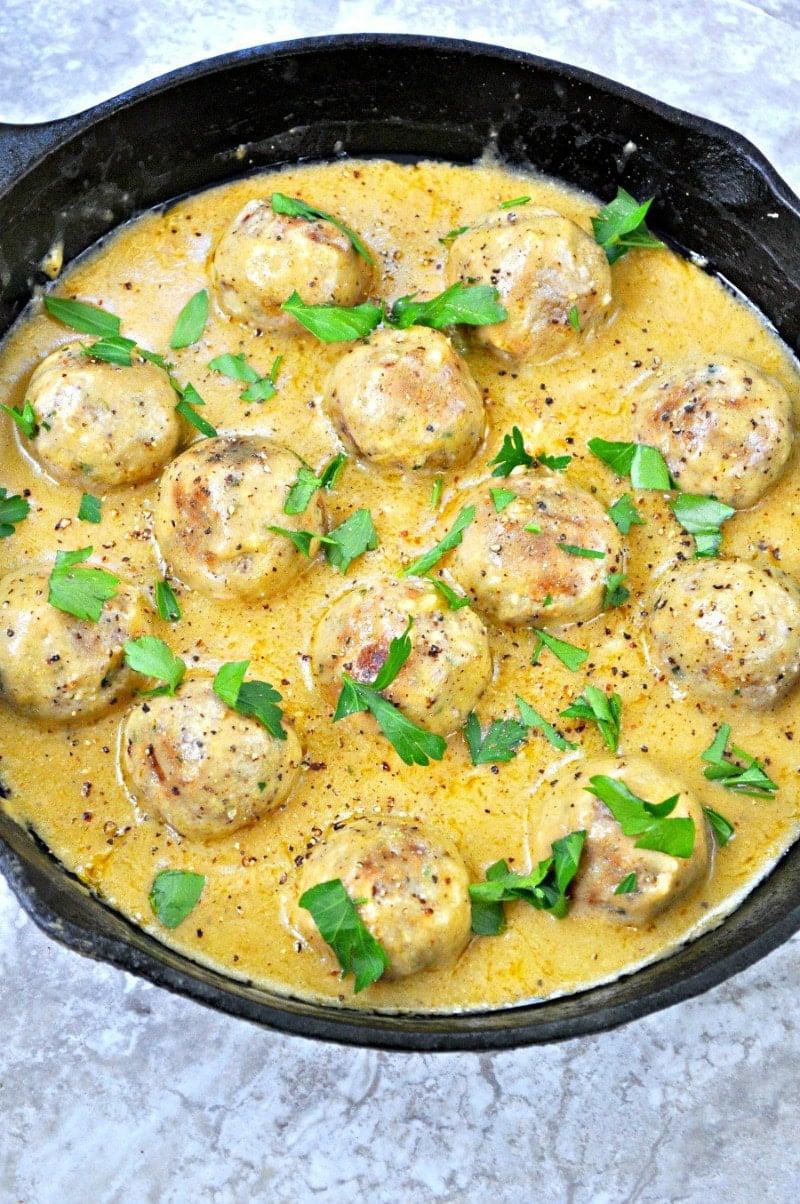 Vegan Sweedish Meatballs