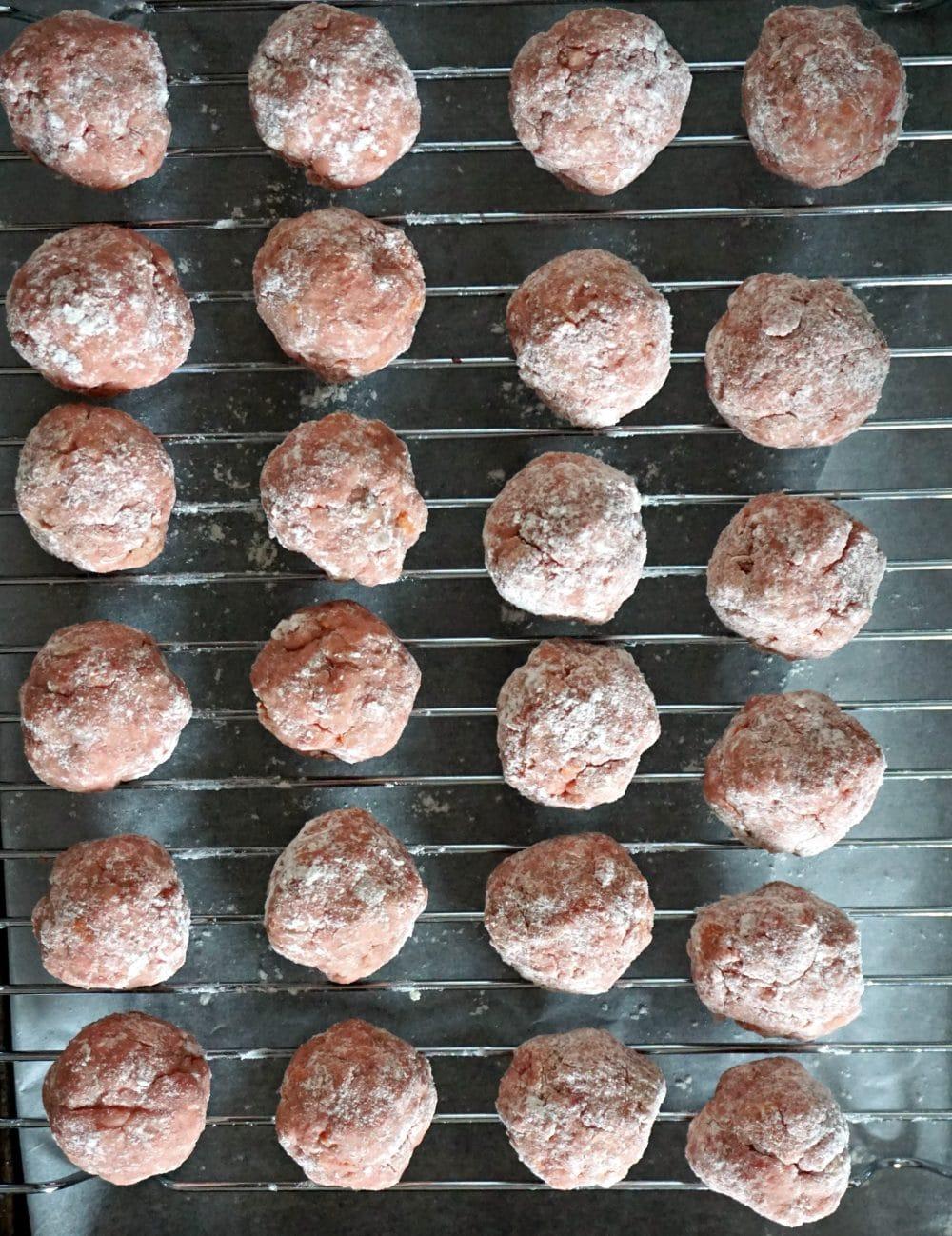 Healthy Swedish Meatballs