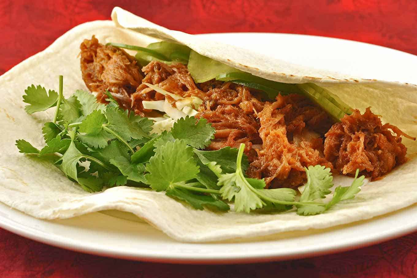 Pulled Pork Tacos with Korean Flavors Recipe  MyGourmetConnection