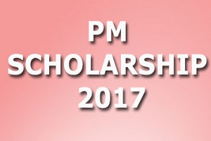 PM Scholarship Scheme 2017-18