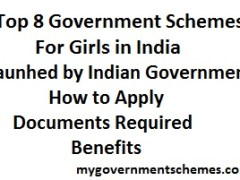 Top 8 Government Schemes for Girls