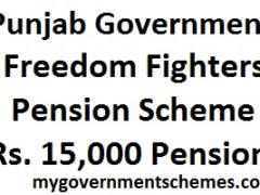 Freedom Fighters Pension Punjab
