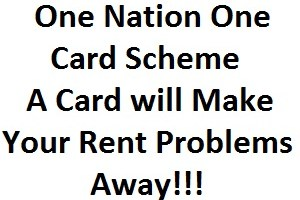 One Nation One Card Scheme