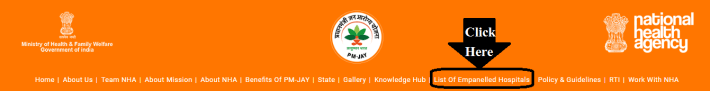 Ayushman Bharat Yojana Hospitals List