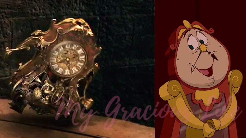 clock from beauty and the beast