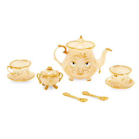 mrs potts tea set live action