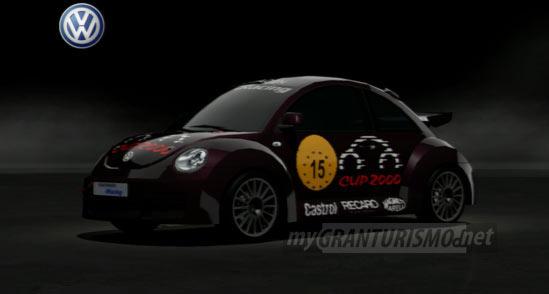 Volkswagen New Beetle Cup Car 00 Gran Turismo 5