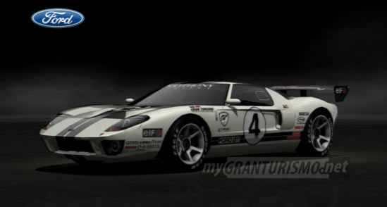 Ford Ford GT LM Race Car Spec II Gran Turismo 5