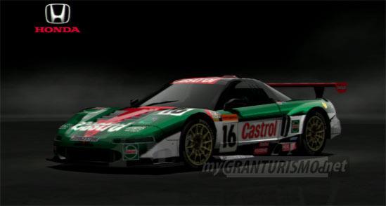 Honda Castrol MUGEN NSX 00 Gran Turismo 5