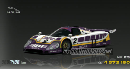 Jaguar XJR 9 LM Race Car 88 Gran Turismo 5
