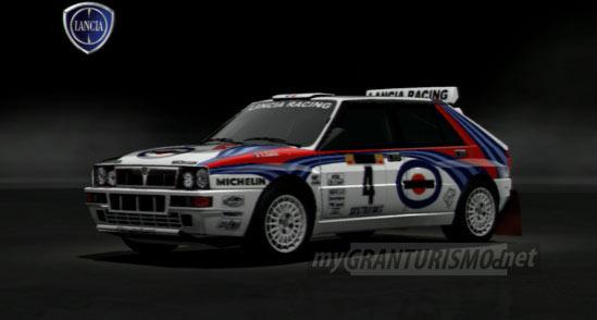 Lancia DELTA HF Integrale Rally Car 92 Gran Turismo 5