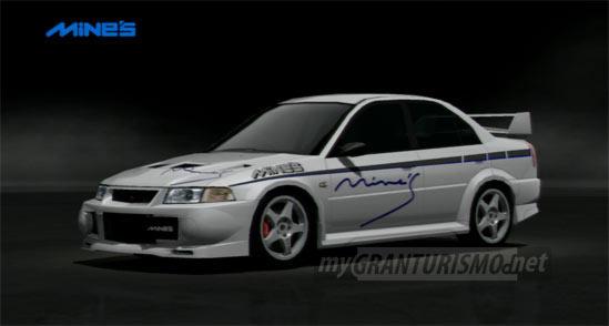 Mines LANCER EVOLUTION VI 00 Gran Turismo 5