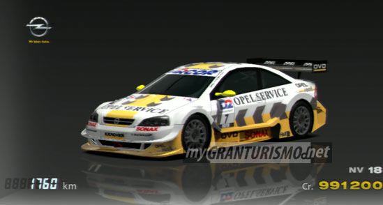 Opel Astra Touring Car Opel Team Phoenix 00 Gran