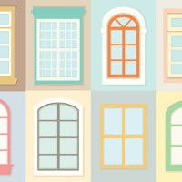 Free vector Decorative Windows Vectors #14446 | My Graphic ...