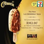 The New LA CREMERIA Stick at RM2.90 (NP:RM3.50) only!