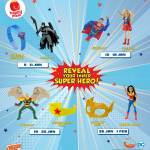 FREE McDonald's Reveal Your Inner Super Hero Toys Giveaway!