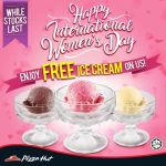 FREE Pizza Hut's Ice Cream Giveaway!