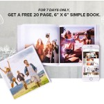 FREE 6×6 Simple Photobook Giveaway!