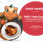 FREE The Manhattan Fish Market Main Course Giveaway! – 免费西餐吃!