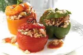 Gemista (Greek Stuffed Tomatoes recipe)-1