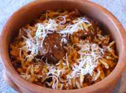 Giouvetsi (Beef stew with Orzo pasta)-3