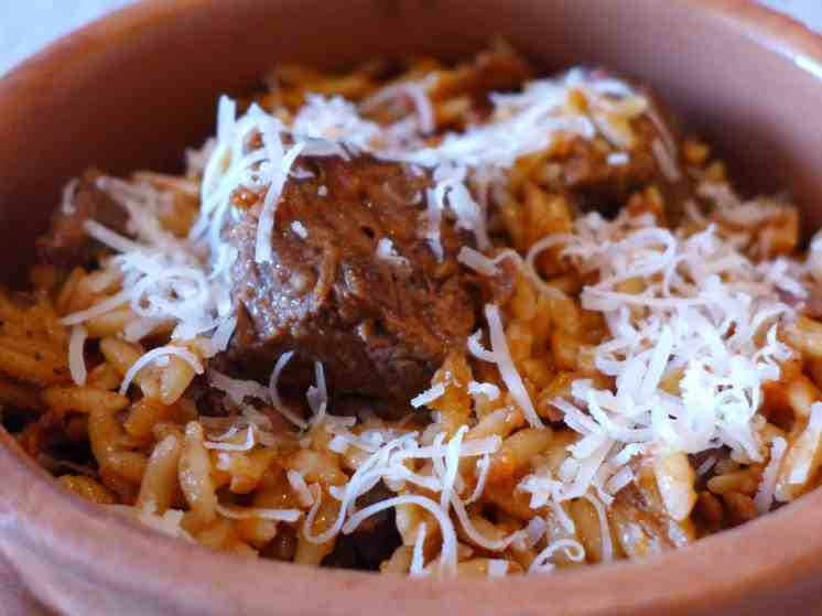Giouvetsi (Beef stew with Orzo pasta)-4