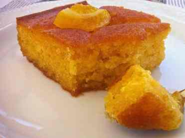 Greek Orange cake recipe (Portokalopita)