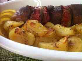 Kontosouvli (Spit roasted BBQ pork)1