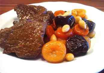 Amazing Christmas Veal with Fruit & Nut-4