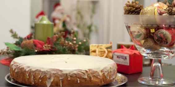 Vasilopita Cake (Greek New Year's cake)-3