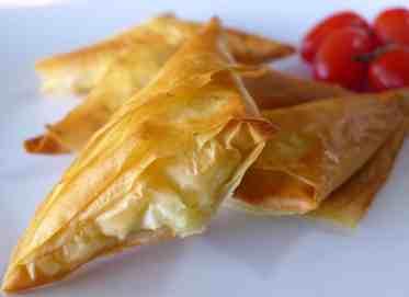 Tiropitakia recipe (Greek Feta Cheese Triangles)-1
