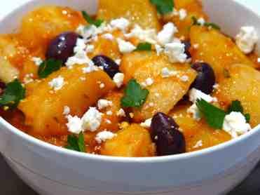 Greek Potato stew recipe (Patates yahni)-2