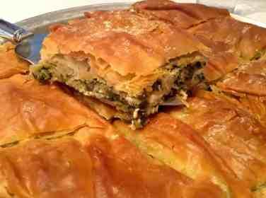 Greek Spanakopita recipe