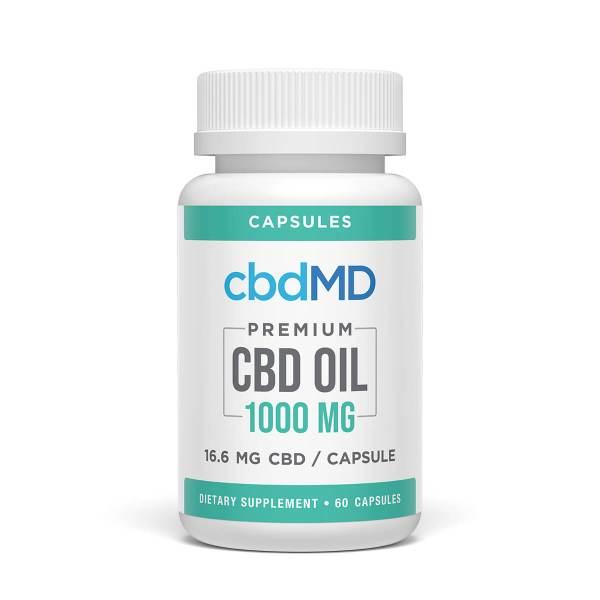 cbdMD 1000mg capsules