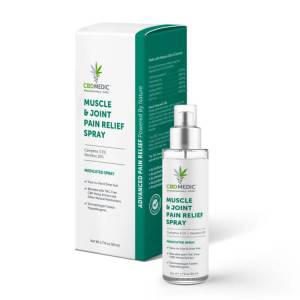 CBDMEDIC Muscle & Joint Pain Spray