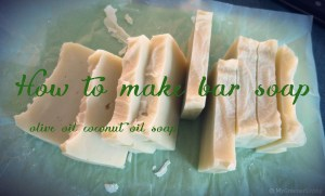 how to make bar soap