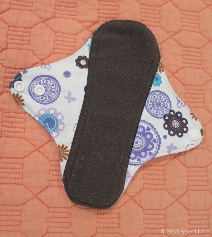 a reusable pad with longer wings