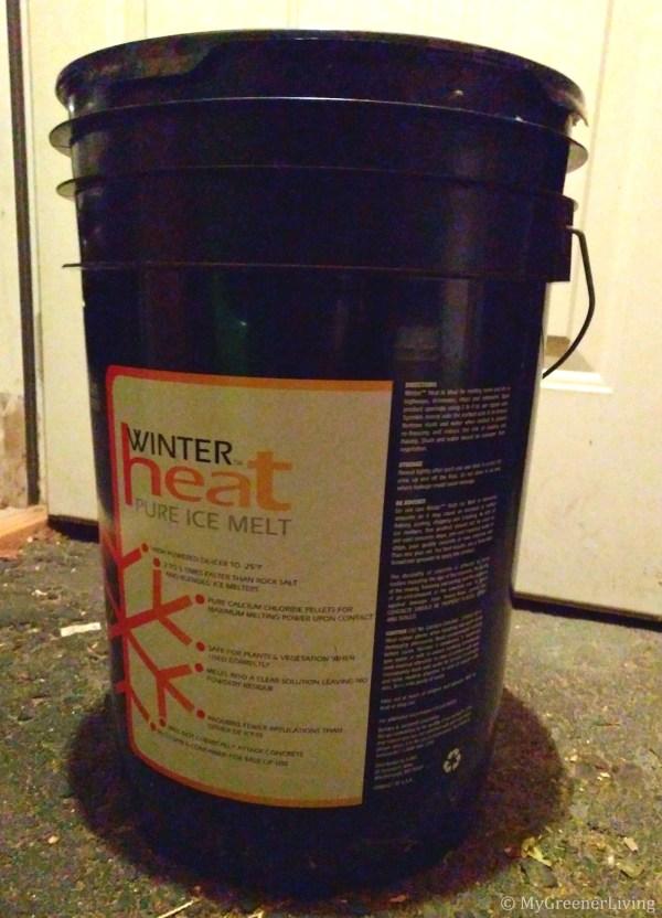 Calcium chloride container