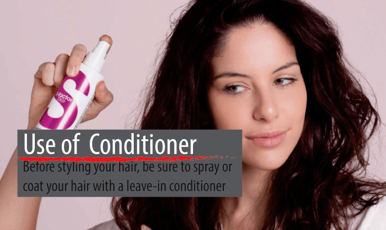 Use a leave-in conditioner