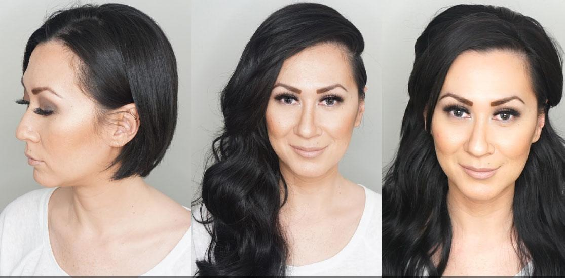 Five tips to keep in mind when using hair extensions on short hair