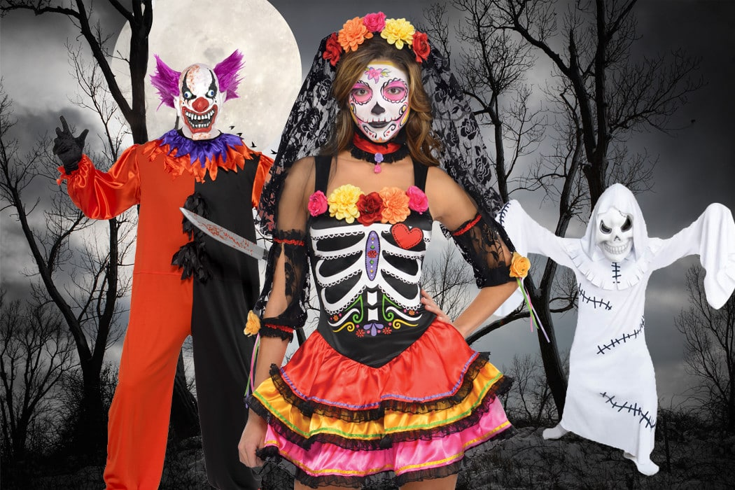 halloween store costumes and