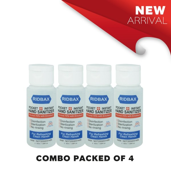 50ml combo pack of 4